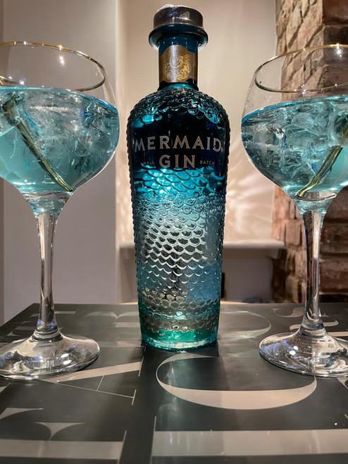 Mermaid Blue Gin Set