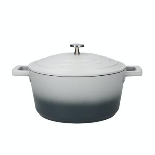 MasterClass Cast Aluminium 4 Litre Casserole Dish - Ombre Grey