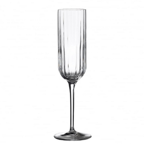 Mayfair Ribbed Flute Glass (pack of 2)