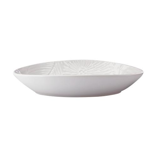 Panama 24cm Oval White Serving Bowl