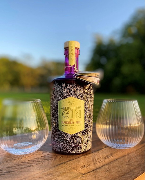 Hedgerow Blackberry and Apple Gin