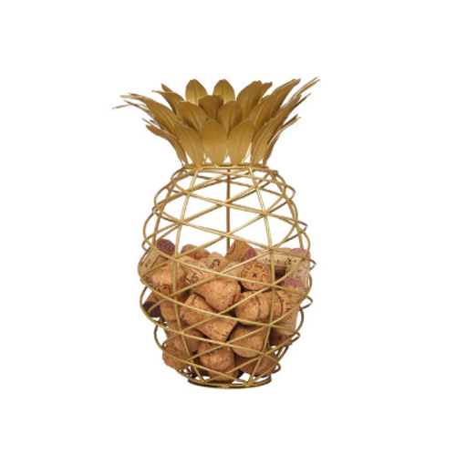 Pineapple Shaped Wine Cork Collector