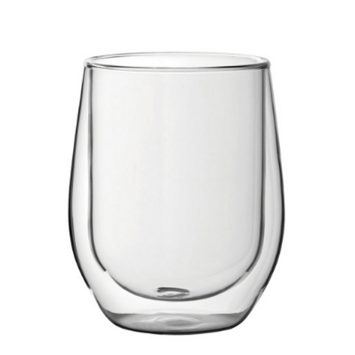 Insulated Coffee Glass 11.7oz (pack of 2)