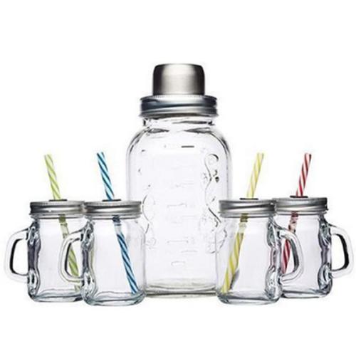 Glass Cocktail Set