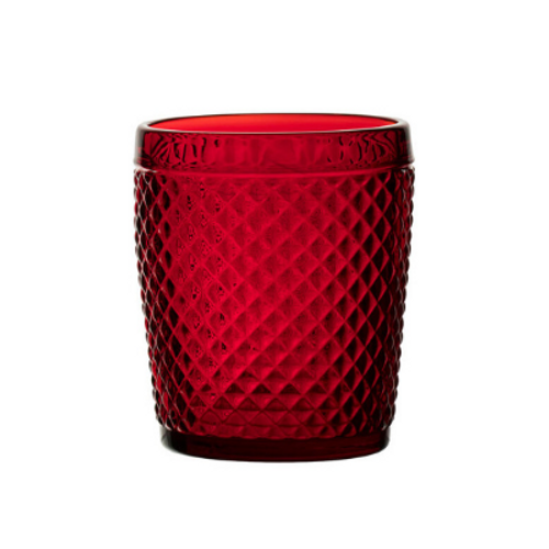 Ophelia Red Double Old Fashioned (pack of 2)