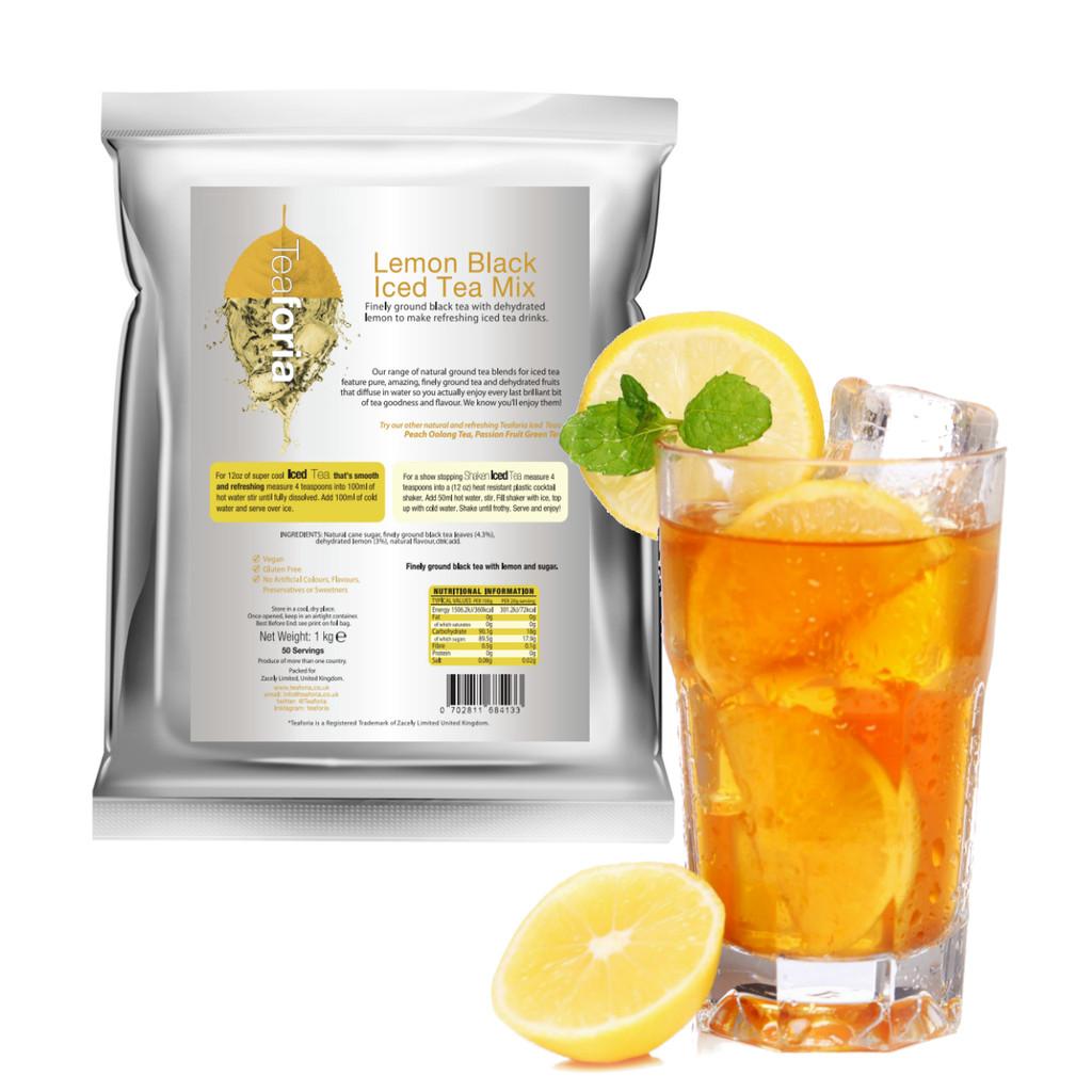 Teaforia Lemon Iced Tea (Black Tea) For Catering