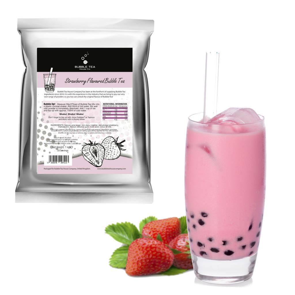 1kg STRAWBERRY Bubble Tea Powder