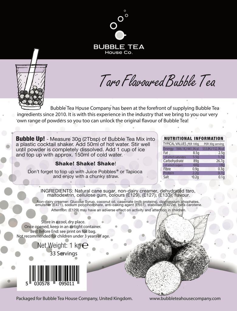 1kg TARO Bubble Tea Powder