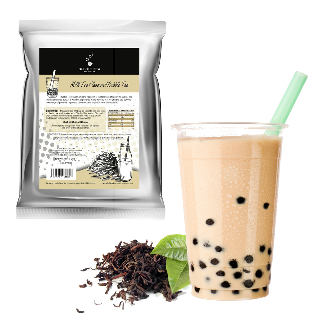 1kg MILK TEA Bubble Tea Powder (10 x 1kg units = £8.50/unit)