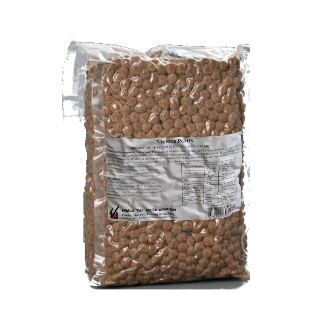 CASE of Tapioca Pearls (8.5mm) (6 x 3kg = £6.50each)
