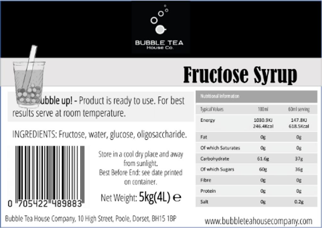 20kg (16L) Fructose Syrup (Case of 4)