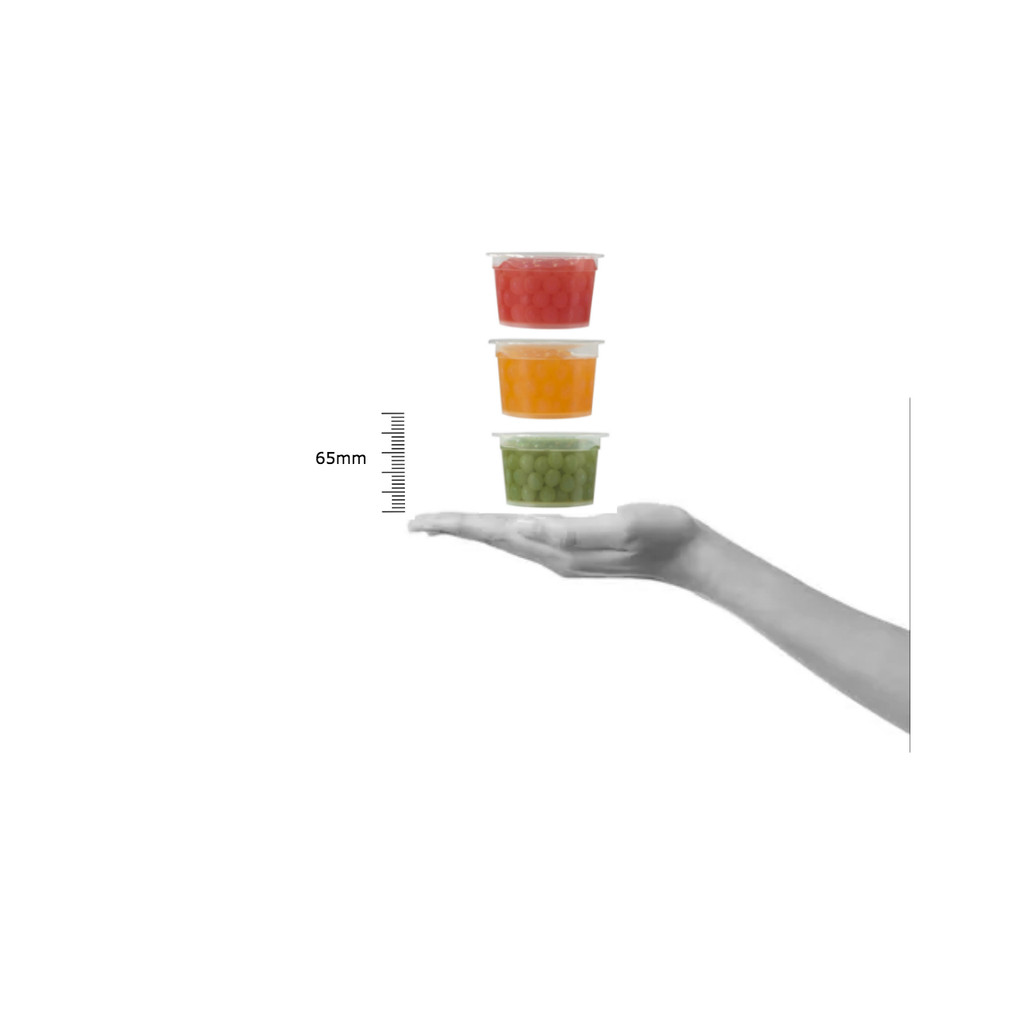 HALF PRICE - 3 x 100g Wild Monk Kiwi, Mango, Strawberry Juice Pobbles (3x100g)