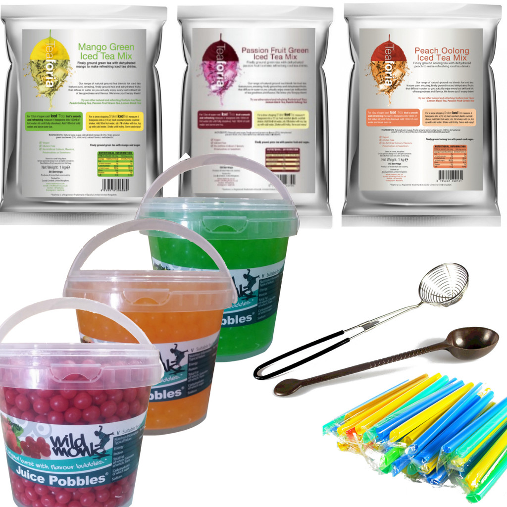Wild Monk Bubble Tea Pro Kit 2 (FREE TOOLS AND STRAWS)