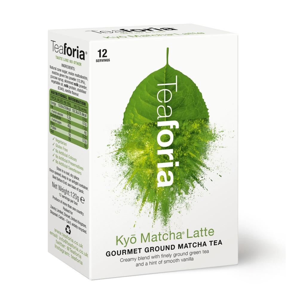 Teaforia Kyō® Matcha Latte (120g) (1 Case = 8x120g units)