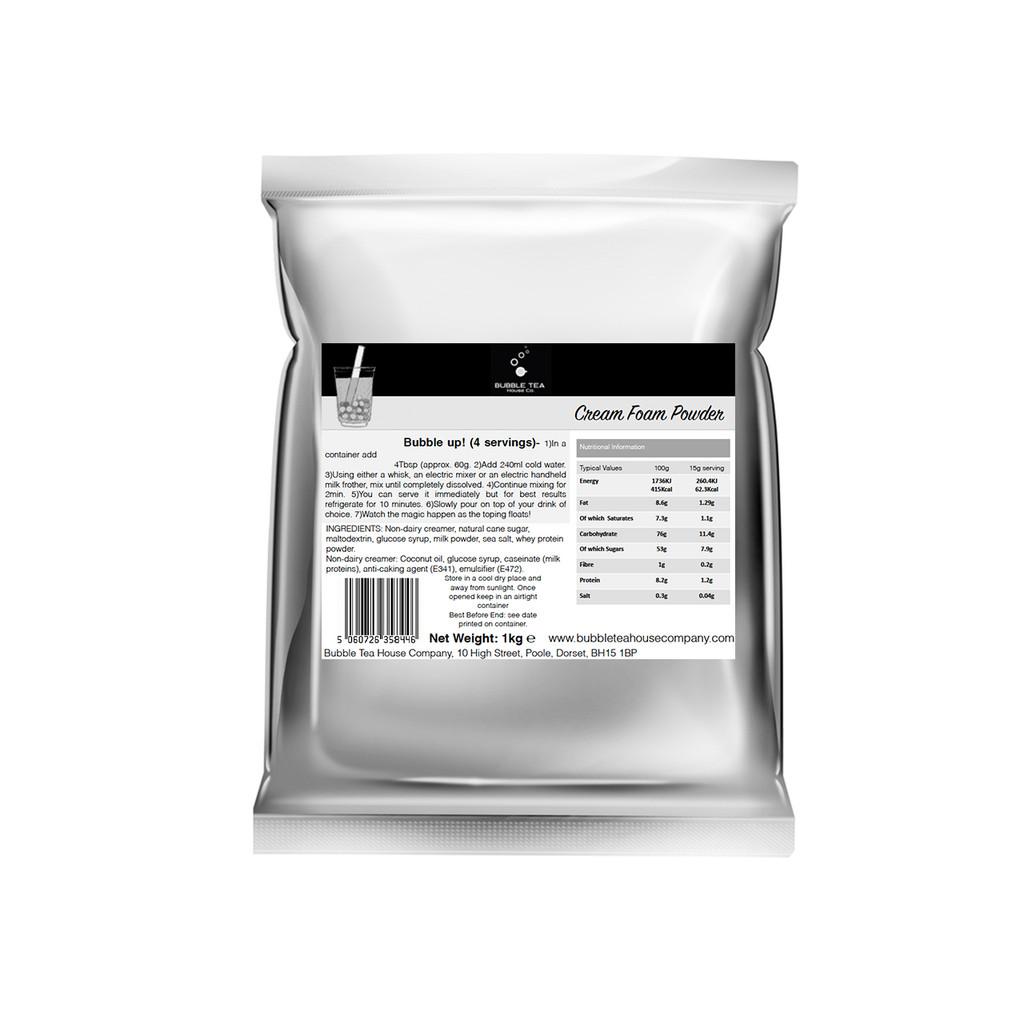 1kg Bubble Tea -  Cream Foam Powder