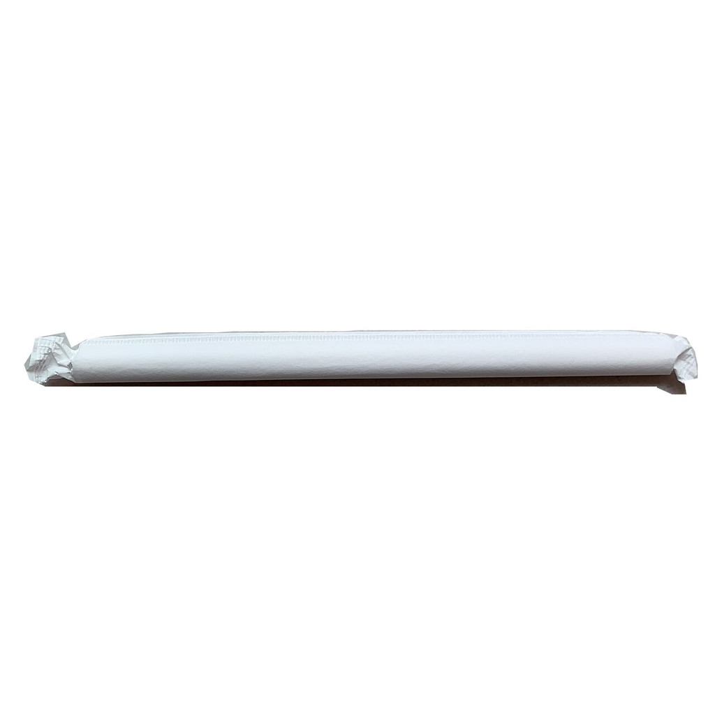 2000 x Chunky PAPER Straws - Individually Wrapped 1.2x21cm (40 packs x 50 straws)