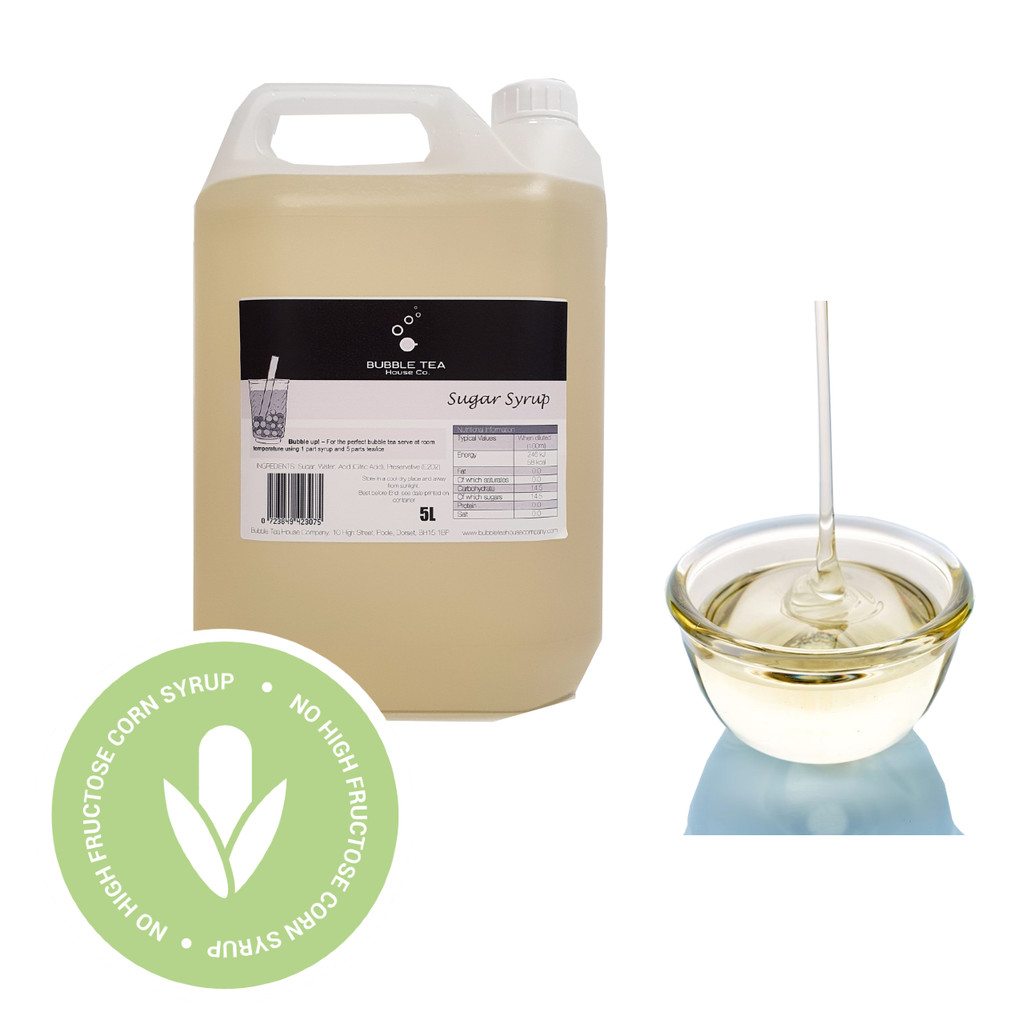 5L Premium Sugar Syrup - FRUCTOSE Alternative