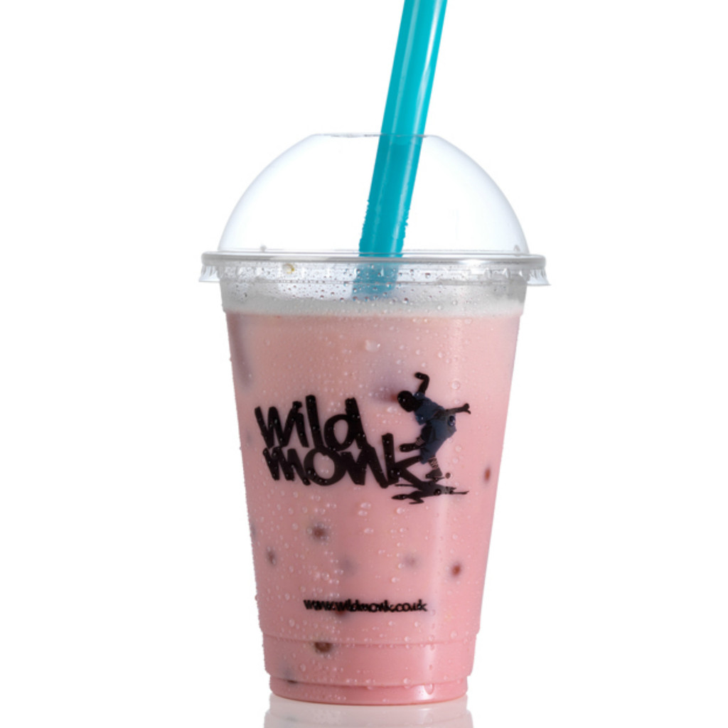 Strawberry Bubble Tea by Wild Monk