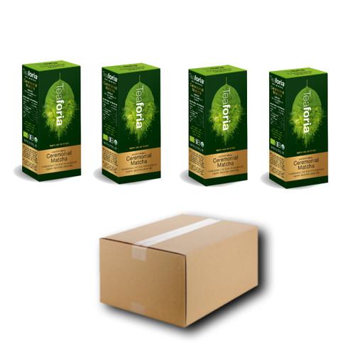 HALF PRICE - 50g CEREMONIAL Japanese Organic Matcha (Case) - 4 units