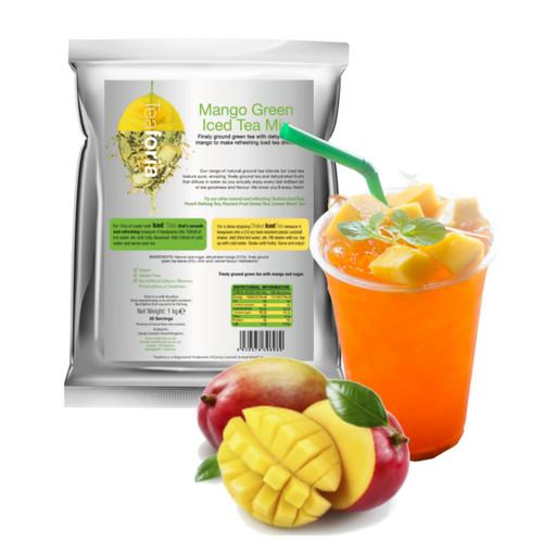 HALF PRICE! 1kg MANGO (Green) Iced Tea Mix - Teaforia
