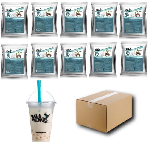 1kg TARO (WHITE) Bubble Tea Mix WILD MONK (1 case = 10x1kg units)