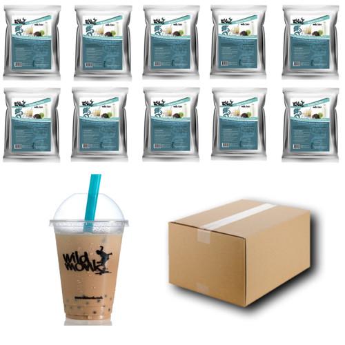 1kg MILK TEA Bubble Tea Mix WILD MONK (1 Case = 10x1kg units)