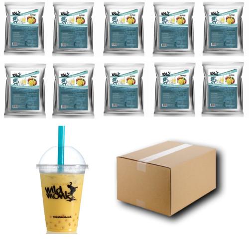 1kg MANGO Bubble Tea Mix WILD MONK (1 Case = 10x1kg units)