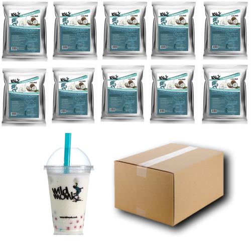 1kg COCONUT Bubble Tea Mix WILD MONK (1 Case = 10x1kg units)