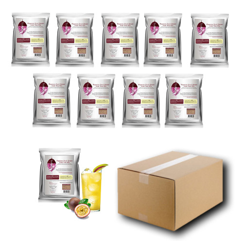 1kg PASSION FRUIT (Green) Iced Tea Mix - Teaforia (1 Case = 10x1kg units)