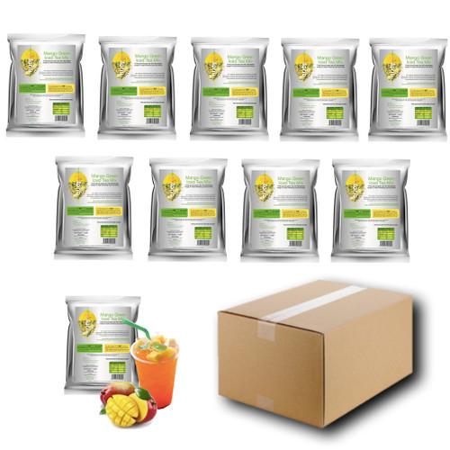 1kg MANGO (Green) Iced Tea Mix - Teaforia (1 Case = 10x1kg units)