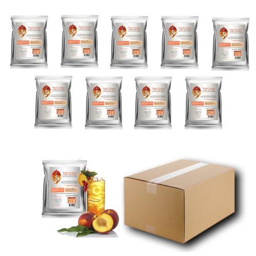 1kg PEACH (Oolong) Iced Tea Mix - Teaforia (1 Case = 10x1kg units)