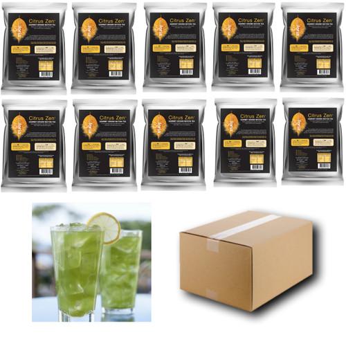 1kg Teaforia Citrus Zen Gourmet Ground Matcha Green Tea (1 Case = 10x1kg units)