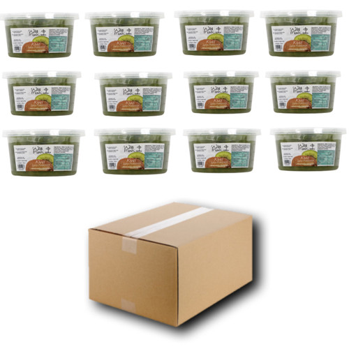 450g Wild Monk Kiwi Juice Pobbles for Bubble Tea (Case of 12 Tubs)