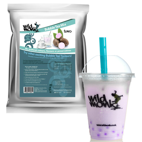 1kg TARO (PURPLE) Bubble Tea Mix WILD MONK