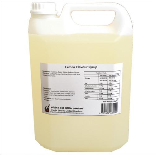 5kg (4L) Syrup for Bubble Tea - LEMON