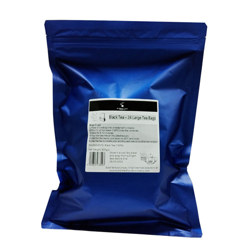 Black Tea - 25g Large Tea Bags (24 per pack)