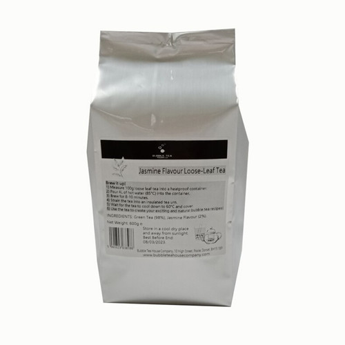 Jasmine Green Loose Leaf Tea - 600g bag