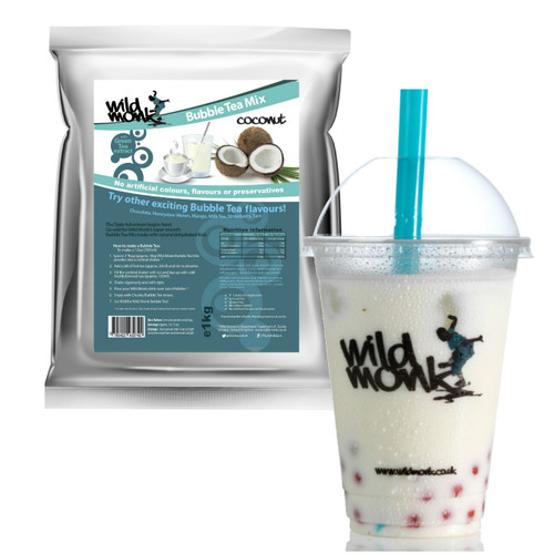1kg COCONUT Bubble Tea Mix WILD MONK