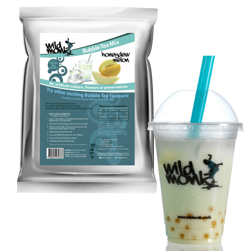 1kg HONEYDEW MELON Bubble Tea Mix WILD MONK