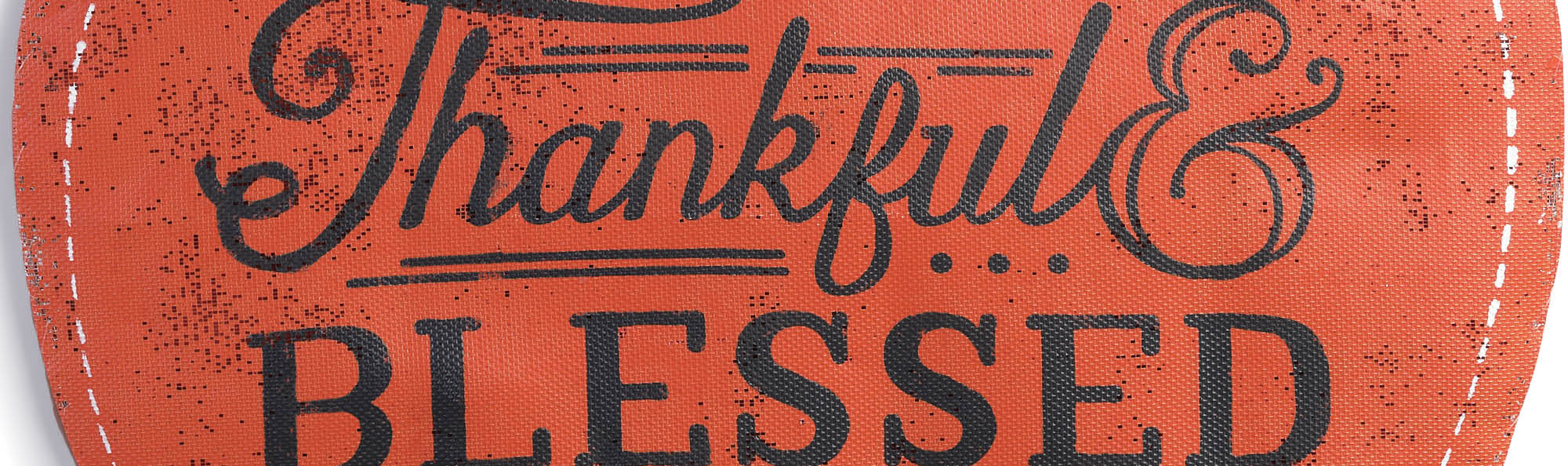 Thankful and Blessed pumpkin screen