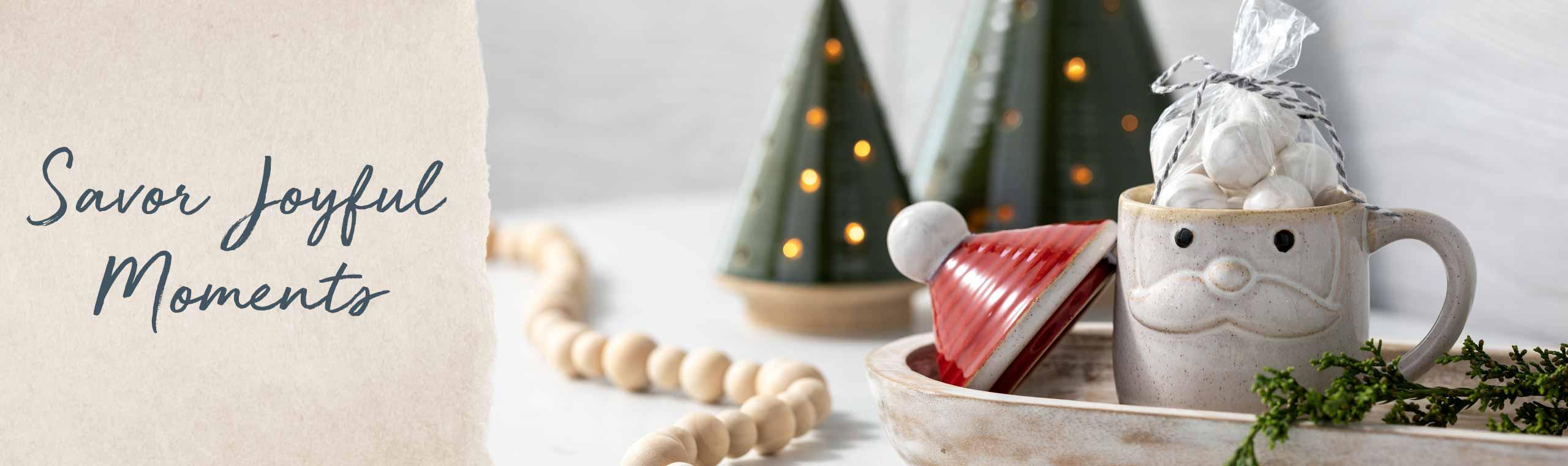 Create Holiday Magic! Warm hands and warm hearts holiday mugs