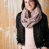 Woven Threads Infinity Scarves