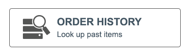 Order History look up past items