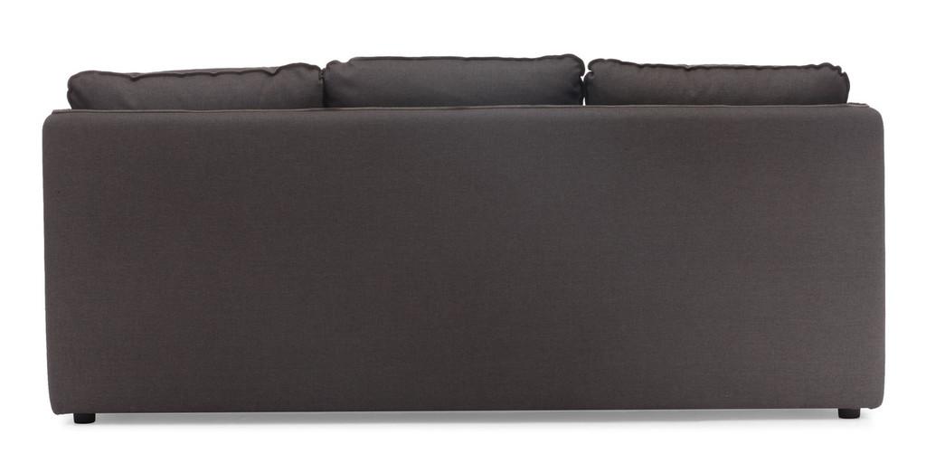 Pacific Heights Sofa Charcoal Gray