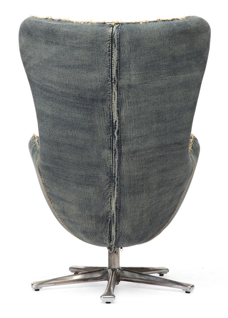Winchester Armchair Blue Denim