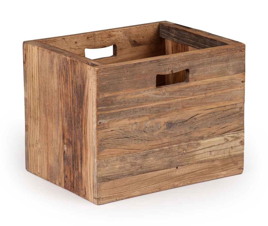 98328 Custer Box Distressed Oak 816226027468 Storage Modern Distressed Oak Box by  Zuo Modern Kassa Mall Houston, Texas Best Design Furniture Store Serving Houston, The Woodlands, Katy, Sugar Land, Humble, Spring Branch and Conroe