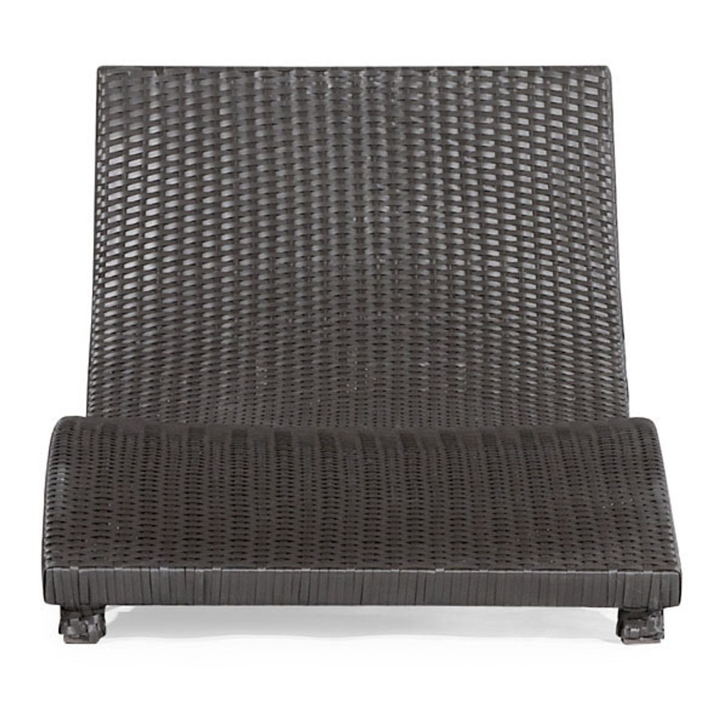 701110 Sydney Chaise Lounge Espresso 811938013990 Wicker Modern Espresso Chaise Lounge by  Zuo Modern Kassa Mall Houston, Texas Best Design Furniture Store Serving Houston, The Woodlands, Katy, Sugar Land, Humble, Spring Branch and Conroe