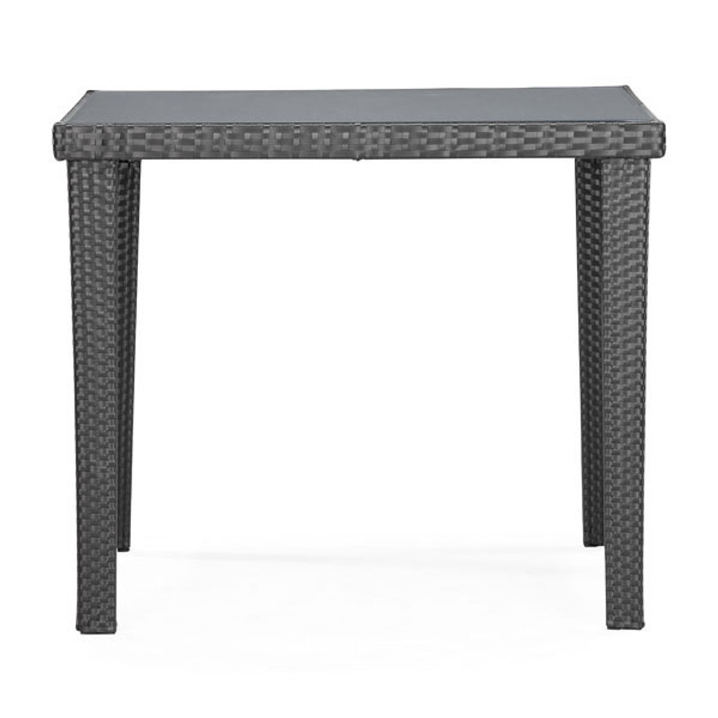 701356 Cavendish Dining Square Table Espresso 811938019541 Wicker Modern Espresso Dining Square Table by  Zuo Modern Kassa Mall Houston, Texas Best Design Furniture Store Serving Houston, The Woodlands, Katy, Sugar Land, Humble, Spring Branch and Conroe