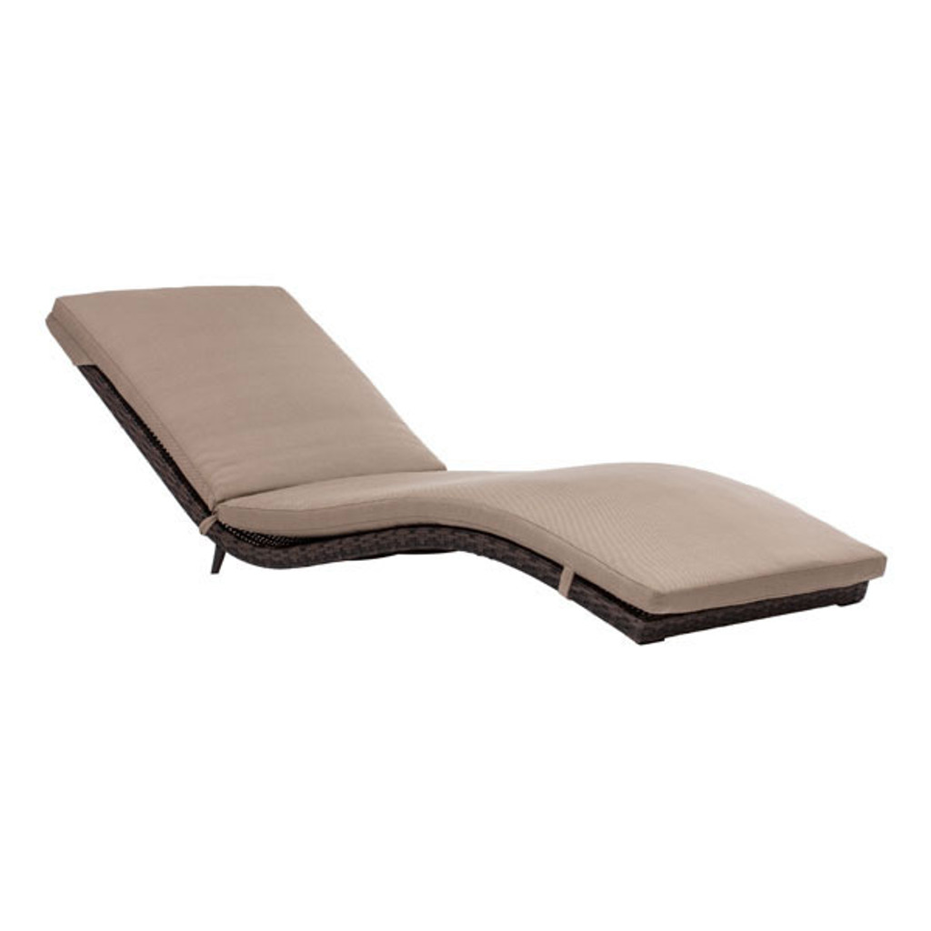 703075 Gemini Chaise Lounge Brown 816226023064 Wicker Modern Brown Chaise Lounge by  Zuo Modern Kassa Mall Houston, Texas Best Design Furniture Store Serving Houston, The Woodlands, Katy, Sugar Land, Humble, Spring Branch and Conroe