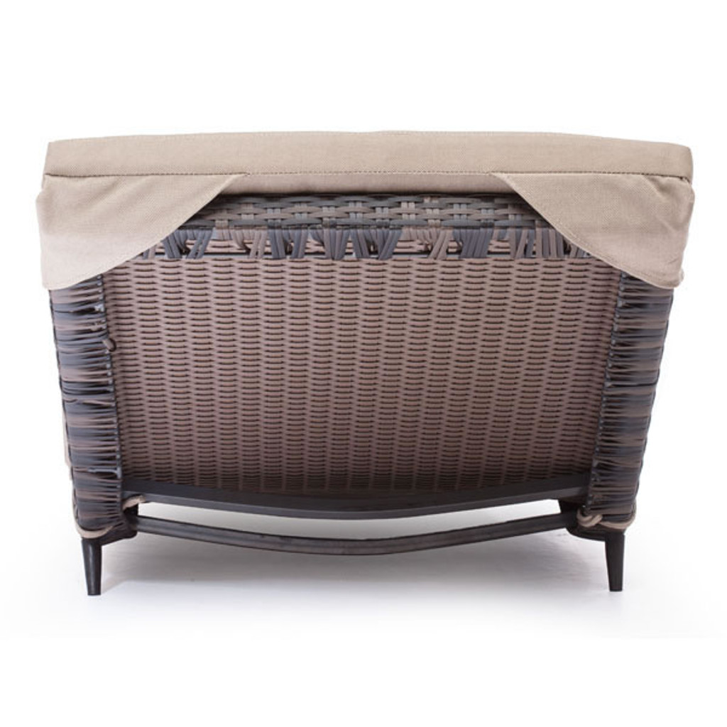 Gemini Chaise Lounge Brown